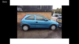 Vauxhall Corsa breaking for parts 1.0 z10xe engine available