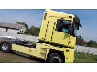 Left hand drive RENAULT MAGNUM 440 E-Tech 2001 with air condition