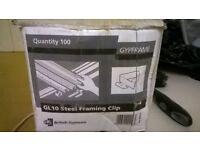 BRITISH GYPSUM GL10 FRAMING CLIPS
