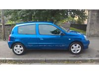 Renault Clio Campus Sport 2006 (56) **Very Low Mileage**2 Keys**Only £1595**