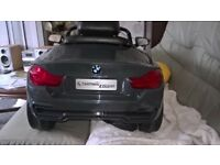 Kids BMW 4 series electric car Also with remote