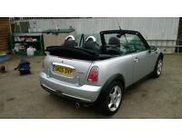 Mini Cooper convertable spotless condition!