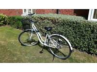 Classic heritage Dutch bicycle for ladies