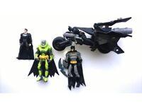 superhero figures batman etc