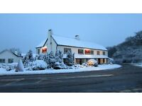 Assistant manager, rural country pub - live in available