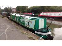 46ft Narrowboat - Moored Alperton - Paddington Arm