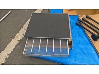 Laptop Tray with Organiser Tray New
