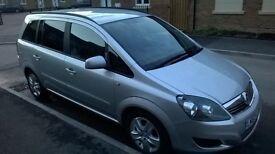 Vauxhall zafira 1.7 eco flex