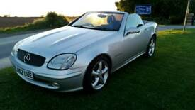 MERCEDES BENZ SLK CONVERTIBLE