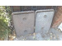 cast iron manhole covers with frame
