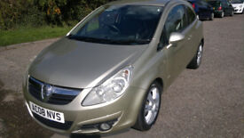 VAUXHALL CORSA 1.4 2008 ONLY 63,000 MILES