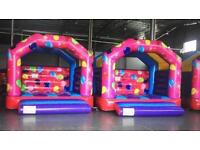 Full Of Air Inflatables Bouncy Castle Celebration Theme
