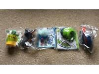Collection of 5 mc Donald's toys