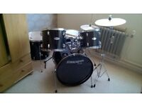 fender starcaster drum kit