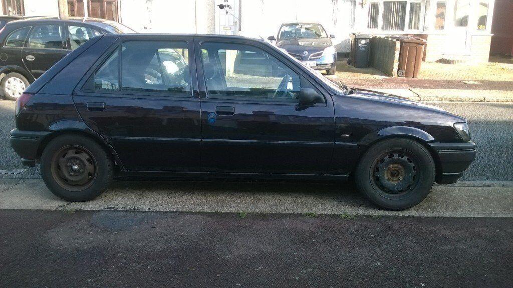 Old School Fiesta Mk Projectideal First Car Cheapnot Rs Xr Turbo