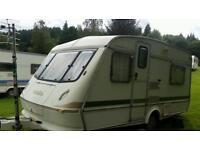 Eldiss caravan 4 berth good van