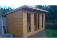 12ftx8ft pent summerhouse