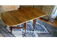 Dinning table and 4 chairs, Morris of Glasgow 1950s