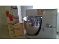 KENWOOD MAJOR FOOD MIXER AND ATTACHMENTS