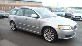 VOLVO V50 2.0 D SE LUX 5d 136 BHP - Quality & Value Guaranteed (silver) 2009