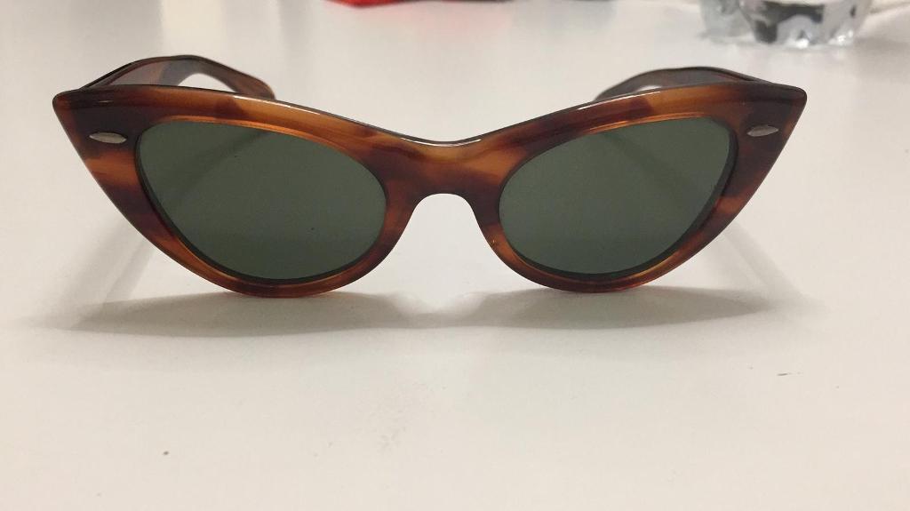 "1d588d78ad5 Original Ray-Ban vintage ""cat eye"" woman sunglasses"
