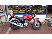 Yamaha YBR motorbike For Sale Year 2011 New MOT and 3 Months free Warranty