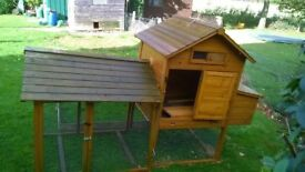 CHICKEN HUTCH AND RUN FOR SALE