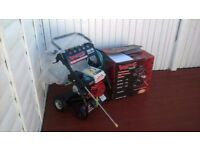 Petrol pressure washer 3000psi 6.5hp, Brand new and unused, still boxed, ready for work can deliver.