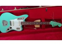 FENDER JAGUAR CIJ '93/'94 SURF GREEN MATCHING HEADSTOCK