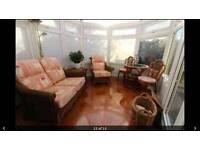 6 piece conservatory furniture set