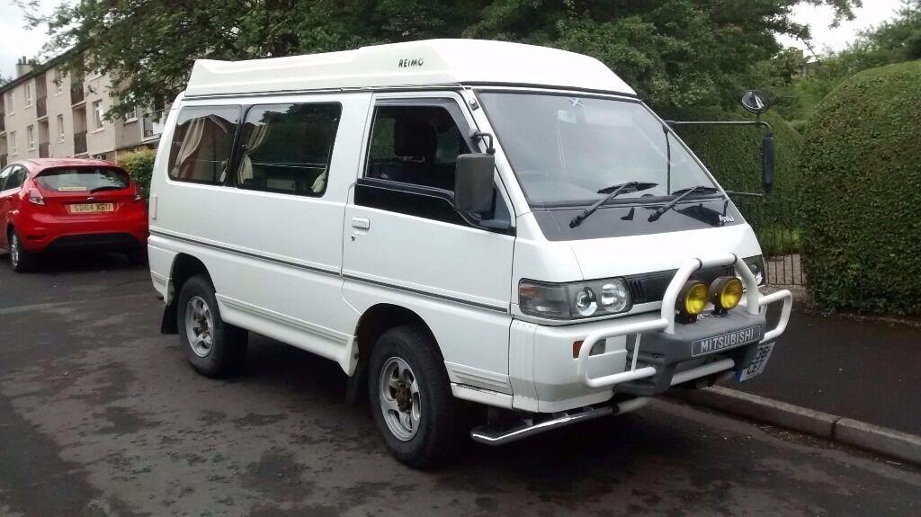 Mitsubishi Delica Camper Van