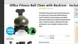 Office fitness ball chair