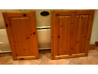 Pine Kitchen Unit Doors