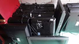 JOBLOT WHOLESALE 13 WORKING LCD TELEVISIONS