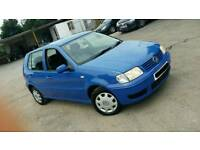 Volkswagen polo..2001..69k..4 owners..5 door hatchback