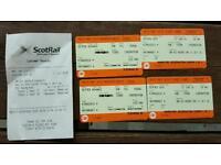 ScotRail tickets from Kingussie to Edinburgh Haymarket on 11 July 2016 at 08:43