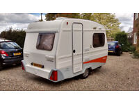 Freedom Jetstream 1st Class 2005 (Lightweight 2 berth caravan with awning)