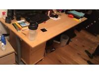 FREE Ikea wooden office desk