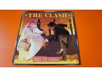 """2 CLASH 7"""" SINGLES VINYL ROCK THE CASBAH & KNOW YOUR RIGHTS EXCELLENT COND"""