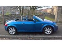 Audi TT Roadster 1.8 2003 (03)**Full Years MOT**Low Mileage**Sporty Convertible**Only £2295