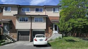 Large three bedroom townhouse with finished basement
