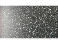 "Kitchen worktop. 195 cm piece of 'Ebony star"" worktop available at Travis Perkins"
