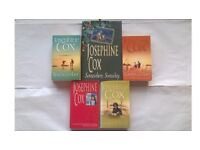 5 Josephine Cox Books Somewhere Someday Beachcomber Looking Back Lovers & Liars
