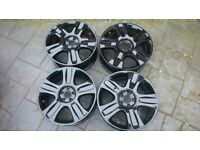 ford alloy wheels 18 inch 5x108 , ford mondeo focus c max,refurbished