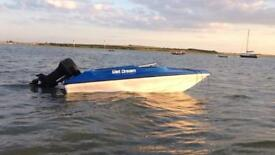 Speed boat 12.5ft
