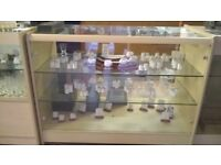 Glass Shop Display Cabinets - £25 each