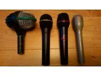 AKG D112, Sennheiser,Ev microphones