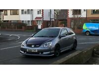 Honda Civic Type r EP3 Premier Edition Cosmic Grey (fk coilover, start button, hpi clear, fsh)