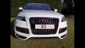 Audi Q7 3.0 TDI S Line Triptronic Quattro White 5DR