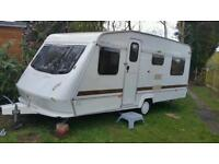 caravan, 4 birth. 2 rooms. fully refurbished. new interior